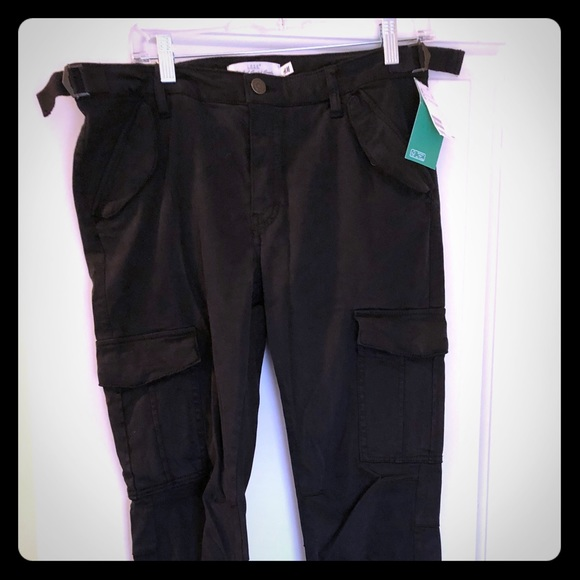 fd9f07652f H&M Pants   Black Hm Cargo   Poshmark